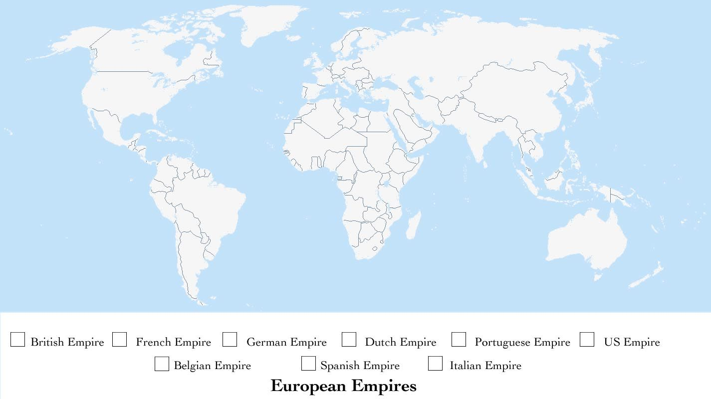 Image Result For Imperial Colonies Of The World Worksheet