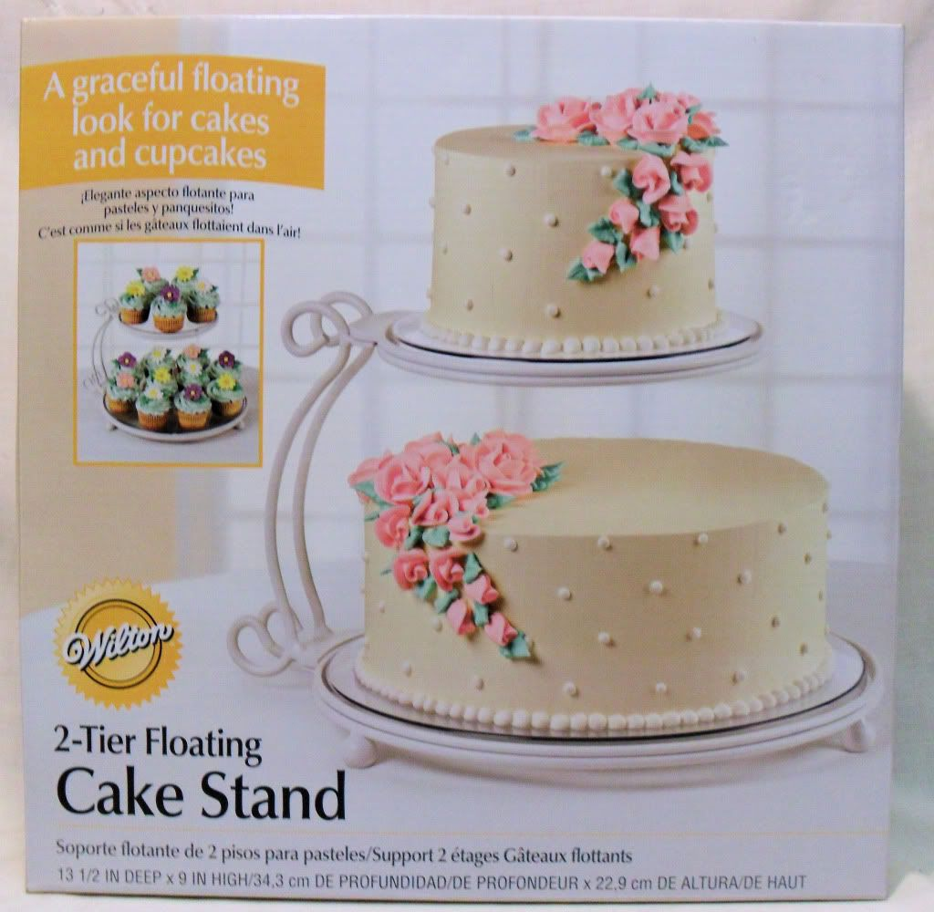 Wilton 2 Tier Floating Cake Stand White 9 High 6 10 Round Cakes Cake Round Cakes Two Teir Cake