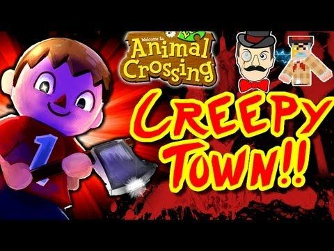 Creepiest Town Ever Animal Crossing New Leaf Dream Code Is