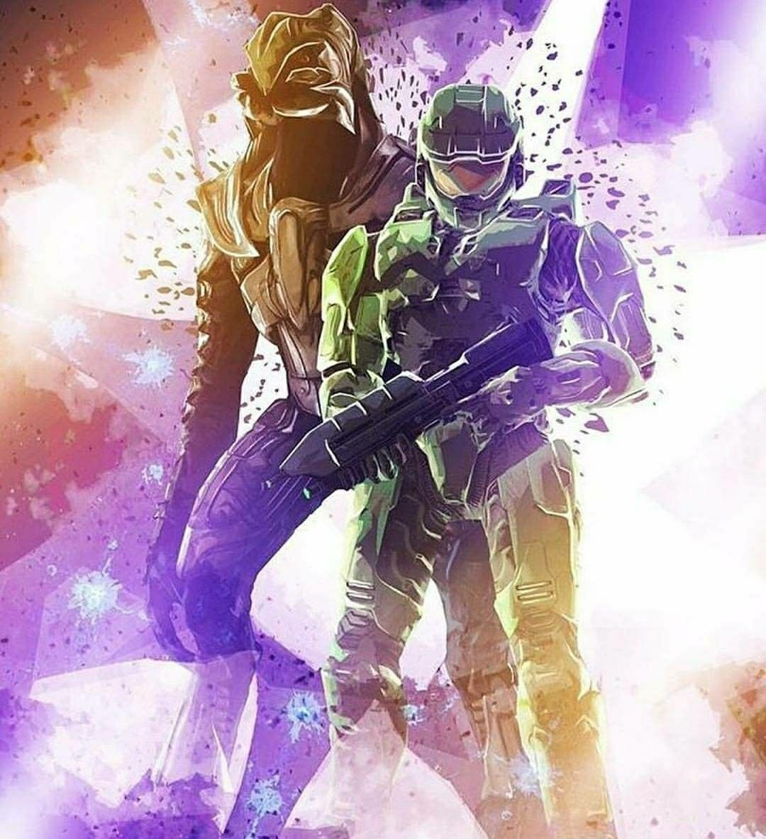 Master Chief And Arbiter Xbox Halo Master Chief Halo Game