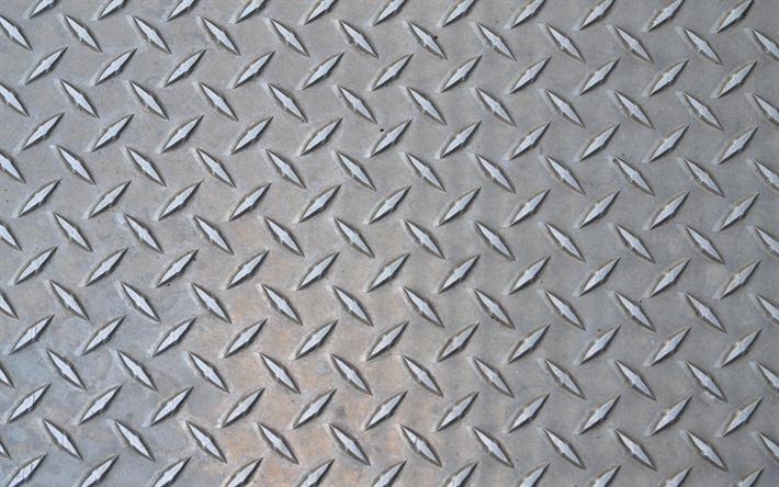 Download Wallpapers Metal Plate 4k Metal Texture Stamping Besthqwallpapers Com Metal Texture Diamond Plate Digital Texture