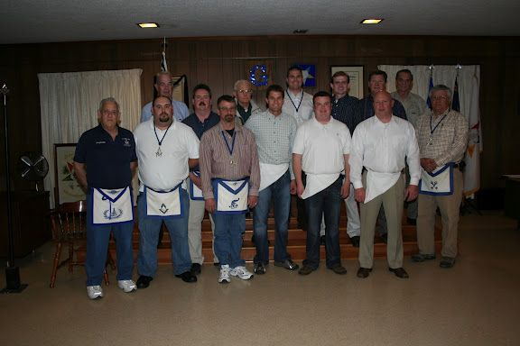 NASCAR Driver David Ragan is a Freemason.    Williams Lodge officers and members that conferred the Fellow Craft Degree for our new Brothers David Ragan,Chris Dilbeck and Shawn Gilmore.