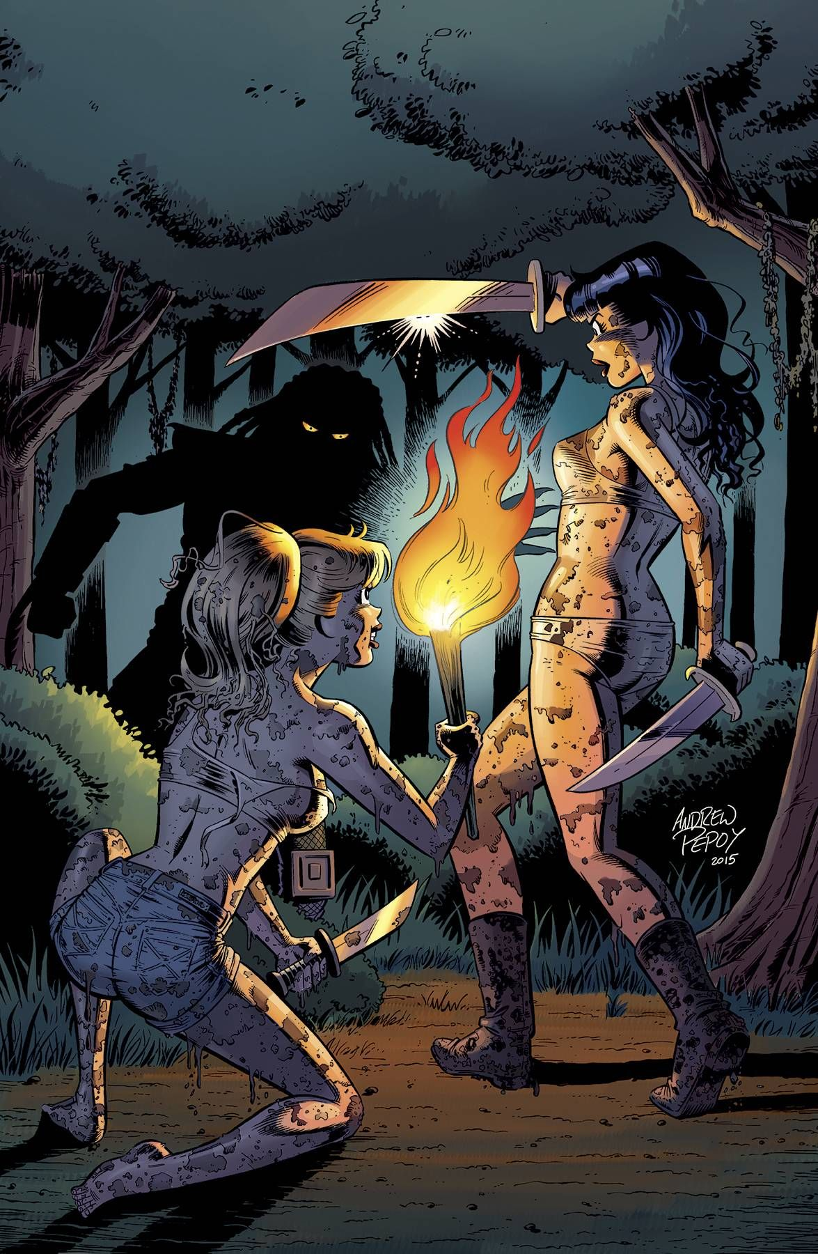 Archie vs Predator 4 [Advance Comic Review] Predator