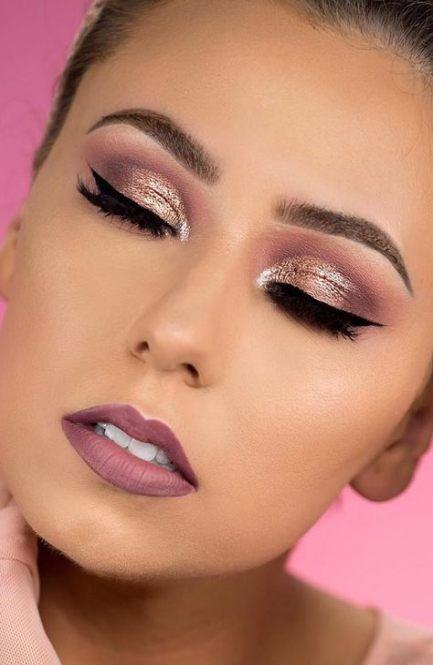 Photo of New Makeup Bridesmaid Brown Eyes Rose Gold 53+ Ideas