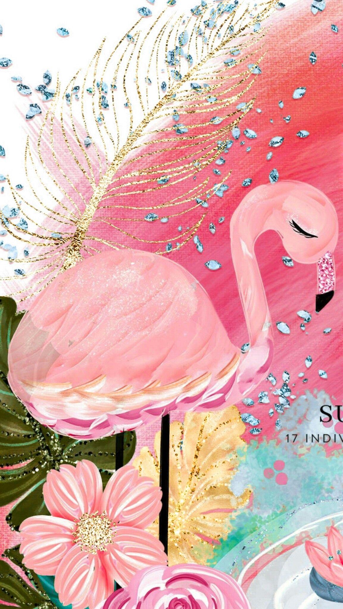 Pin By Nayara Vieira On Flamingo Iphone Wallpaper Flamingo Wallpaper Flower Wallpaper Lock screen iphone 7 flamingo wallpaper