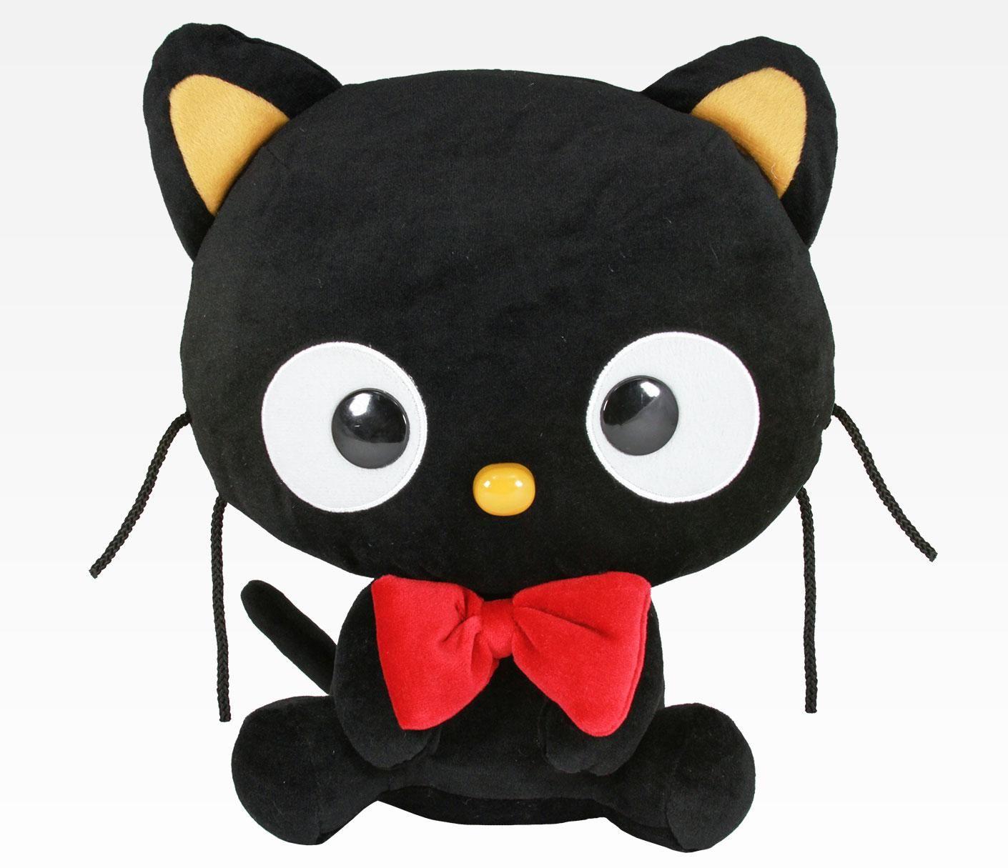 Predownload: Chococat 12 Plush Bowtie Kitty Hello Kitty Cat Plush [ 1215 x 1410 Pixel ]