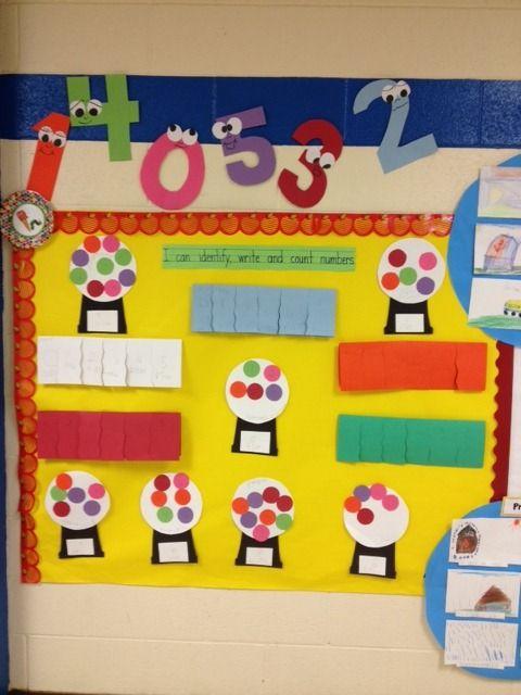 Math Bulletin Board For Kindergarten Schoolgirlstyle