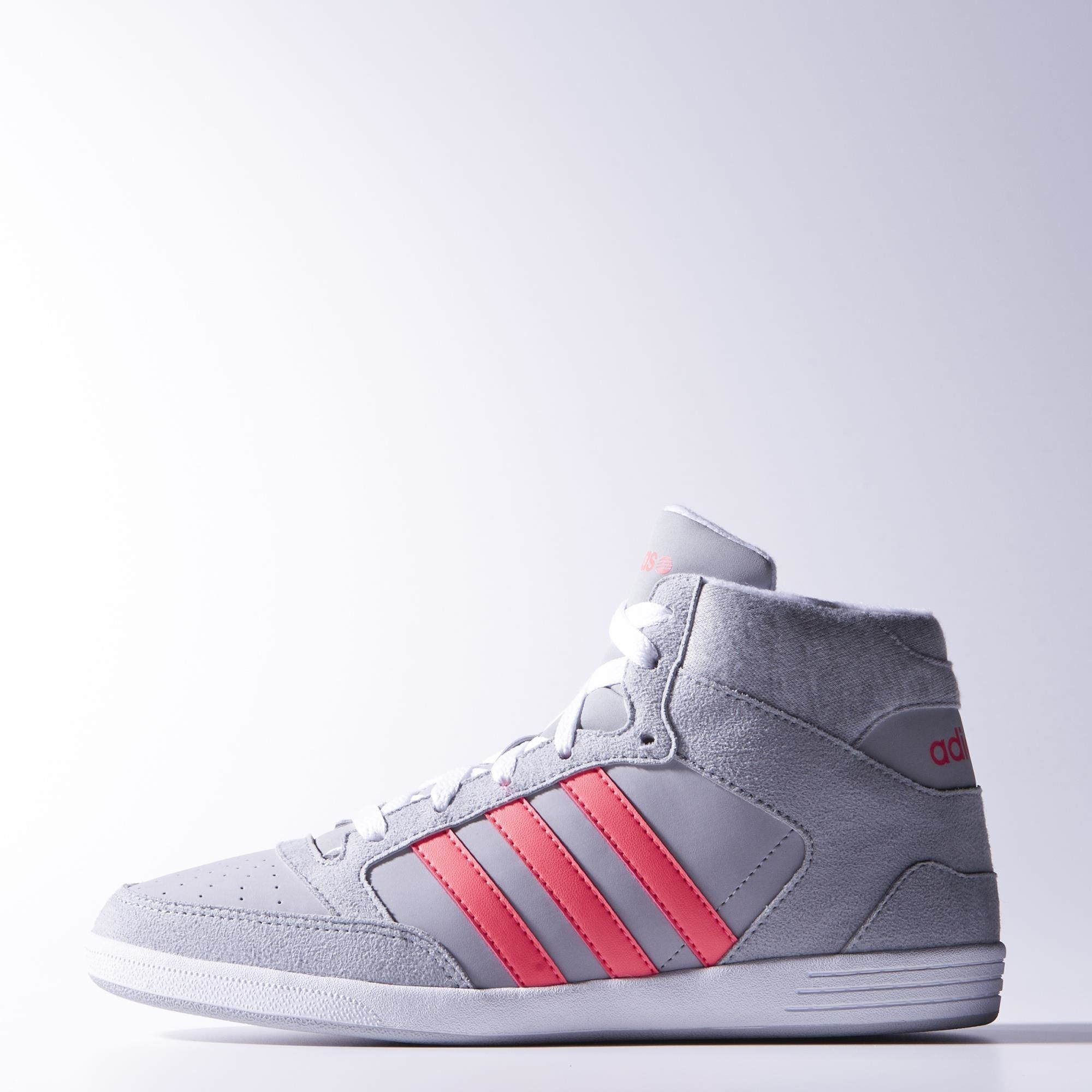 new product 6d01f d03a4 adidas Zapatillas VLNEO Hoops Caña Media Mujer   adidas Colombia