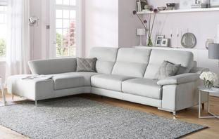 Guest Left Hand Facing 3 Seater Corner Sofa Bed Momentum Lounge