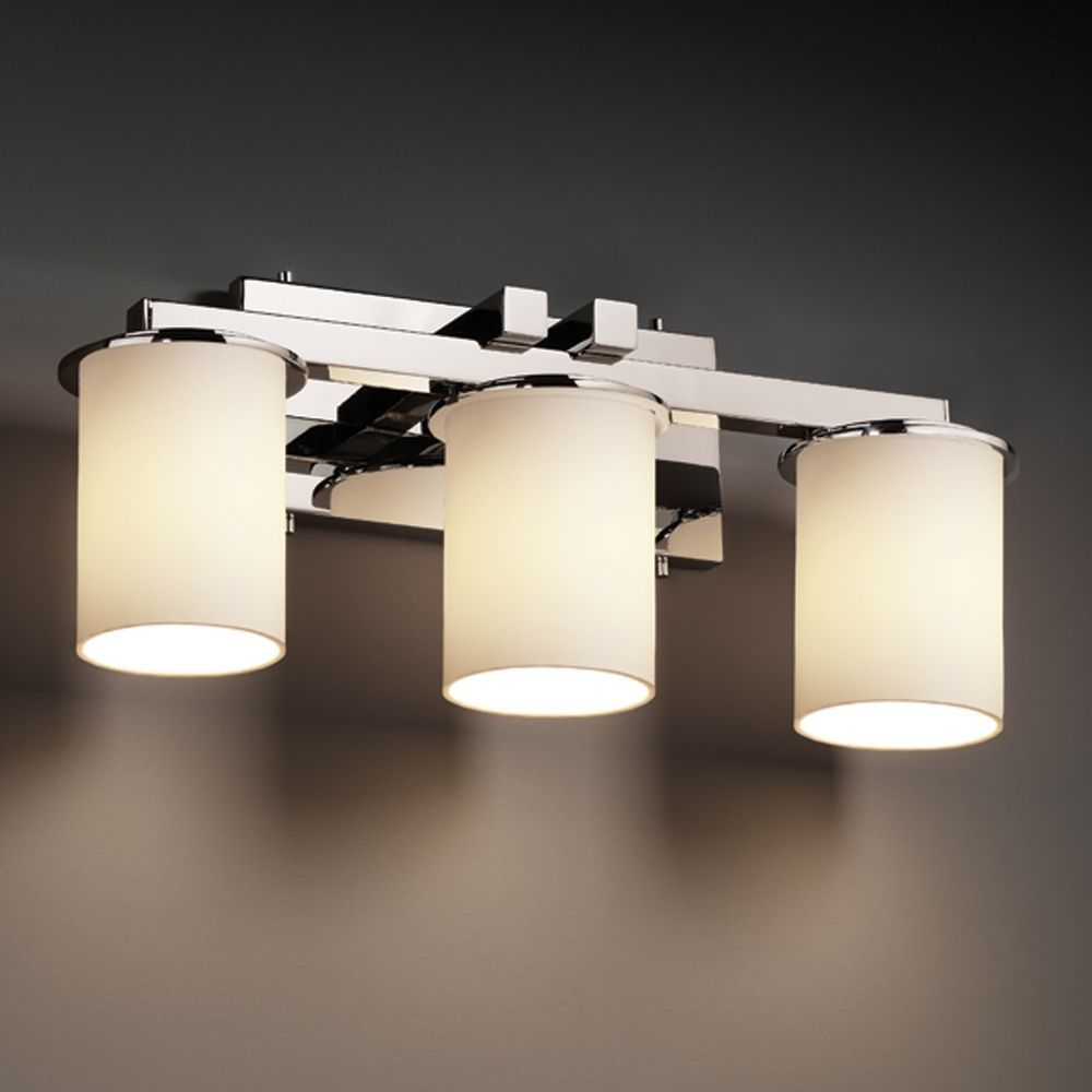 Justice Design Bathroom Lighting Justice Design Group Fusion Collection Bathroom Light  Bathroom