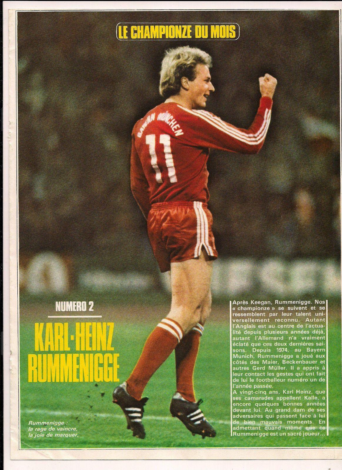 Pin Auf Karl Heinz Rumenigge