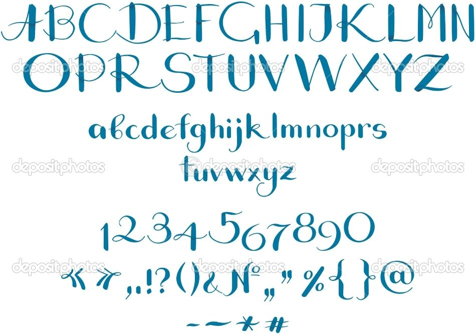 Calligraphy Alphabet Google Search Calligraphy Pinterest