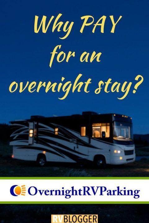 Free Overnight Rv Parking In 2020 Overnight Boondocking Rv Road Trip