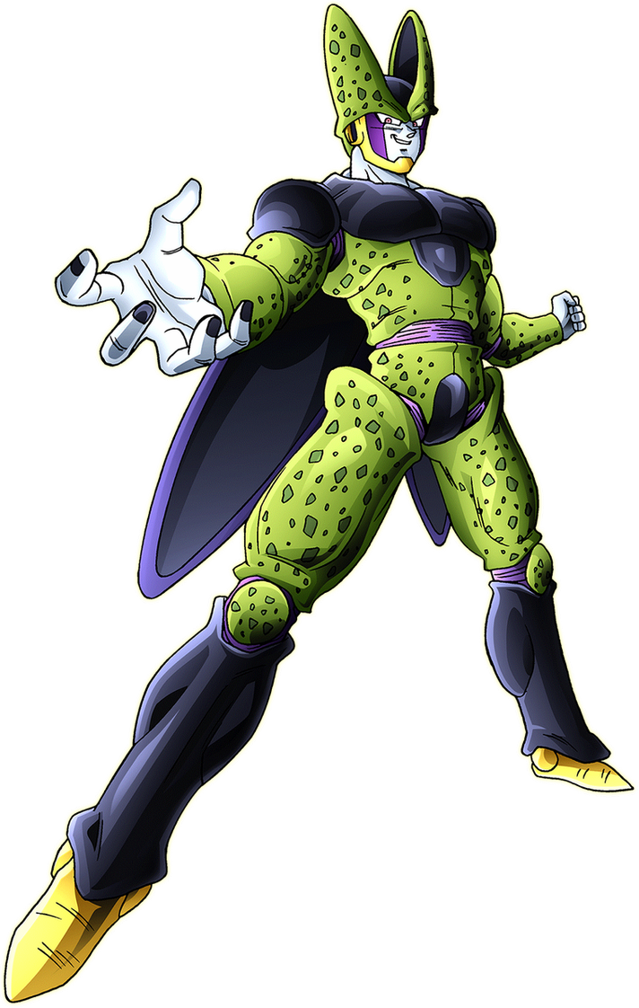 Perfect cell render 4 [Xkeeperz] by maxiuchiha22 on