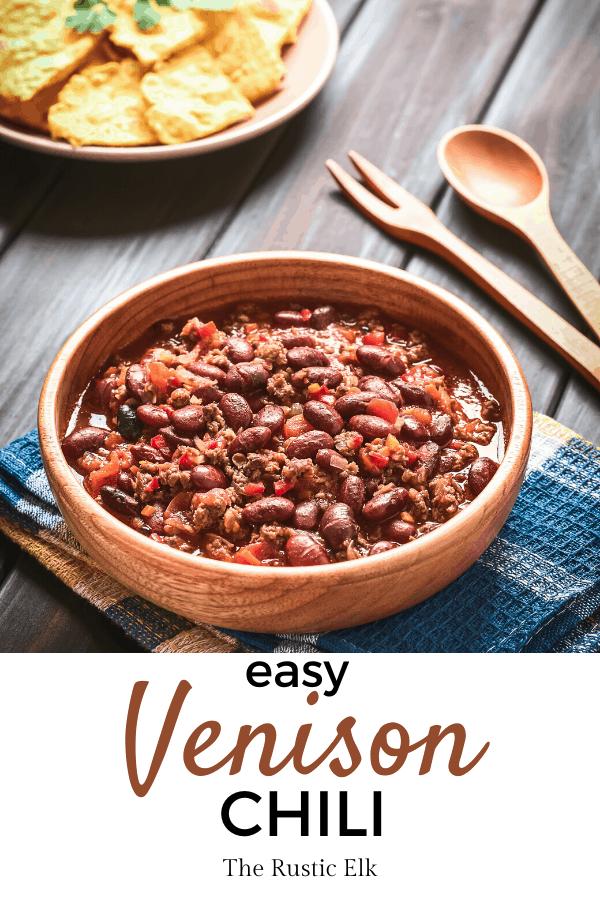 The Best Venison Chili Recipe Recipe Venison Chili Recipe Venison Chili Deer Recipes