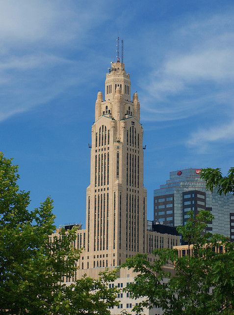 Lincoln Leveque Tower Famous Structures Tower Modern City