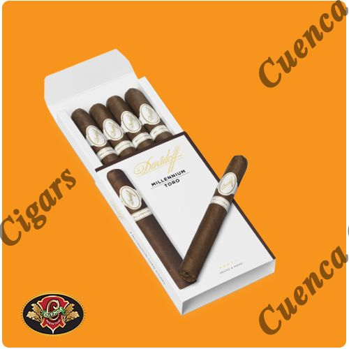 Davidoff Millennium Toro Cigars - Box of 4 - Price: $89.90