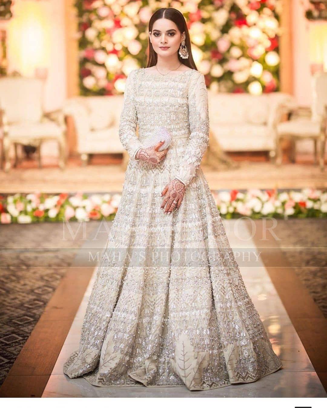 gown pakistani fancy dresses for weddings