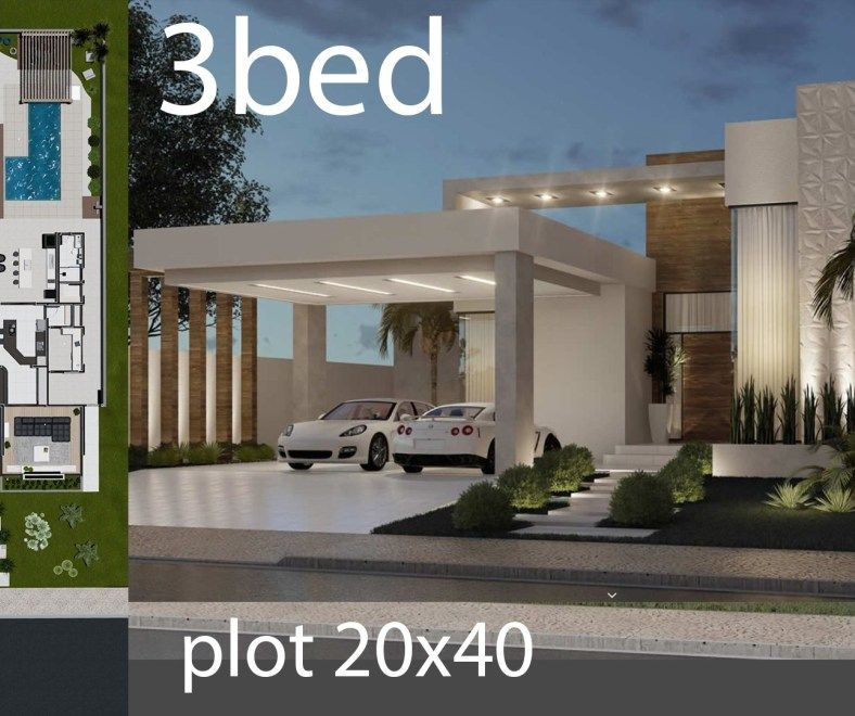 Home Design 5x25 Meters Home Design With Plan House Design House Plans Design