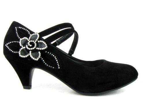 womenu0027s mary janes suede pumps low heels shoes platforms black diamonds flower