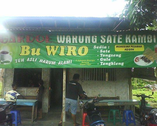 Sate Bu Wiro Kuliner Jogja Female Daily Gejayan