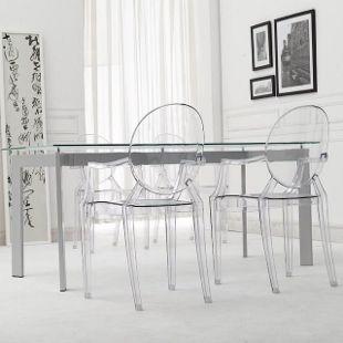 Kartell Louis Ghost Chair-Fancy