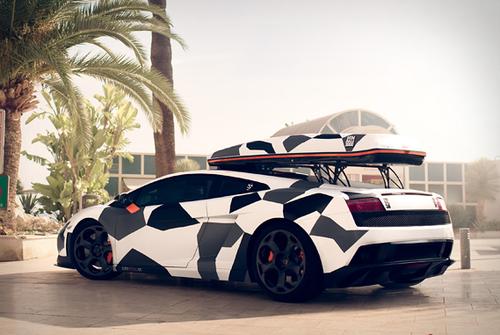 Roof Rack Lamborghini Gallardo Lamborghini Camo Car