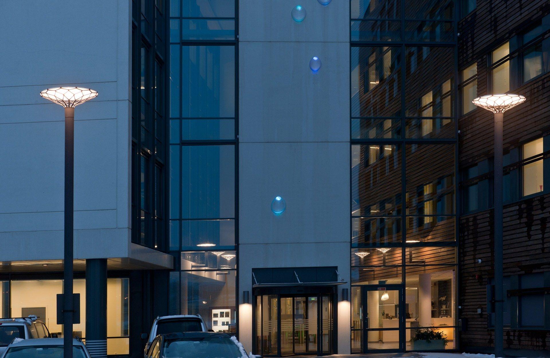 Louis poulsen lp nest this sculpture is a well - Commercial exterior lighting manufacturers ...