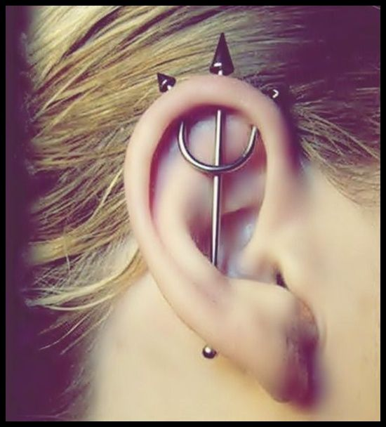 Unique Ear Piercings