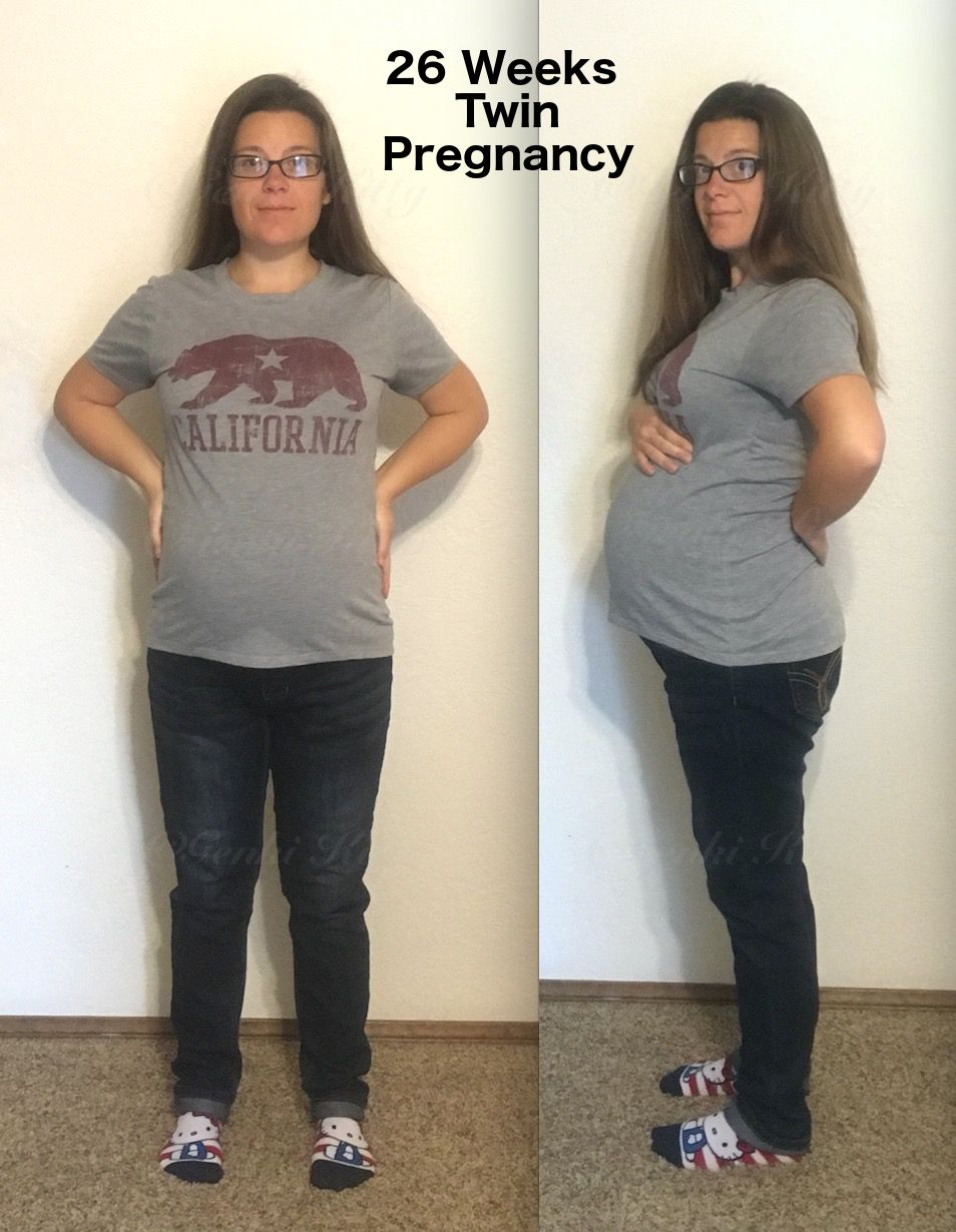 26 weeks twin pregnant belly bump vegan