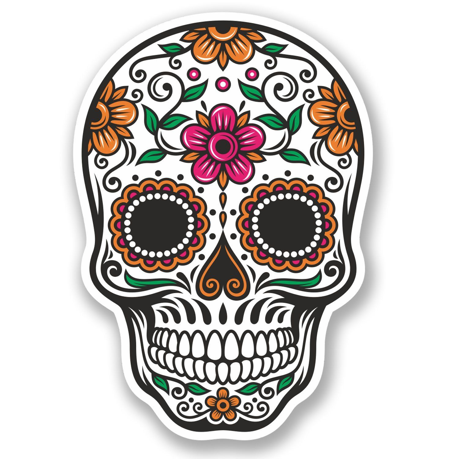 mexico skulls Googlehaku Skull sticker, Mexican sugar