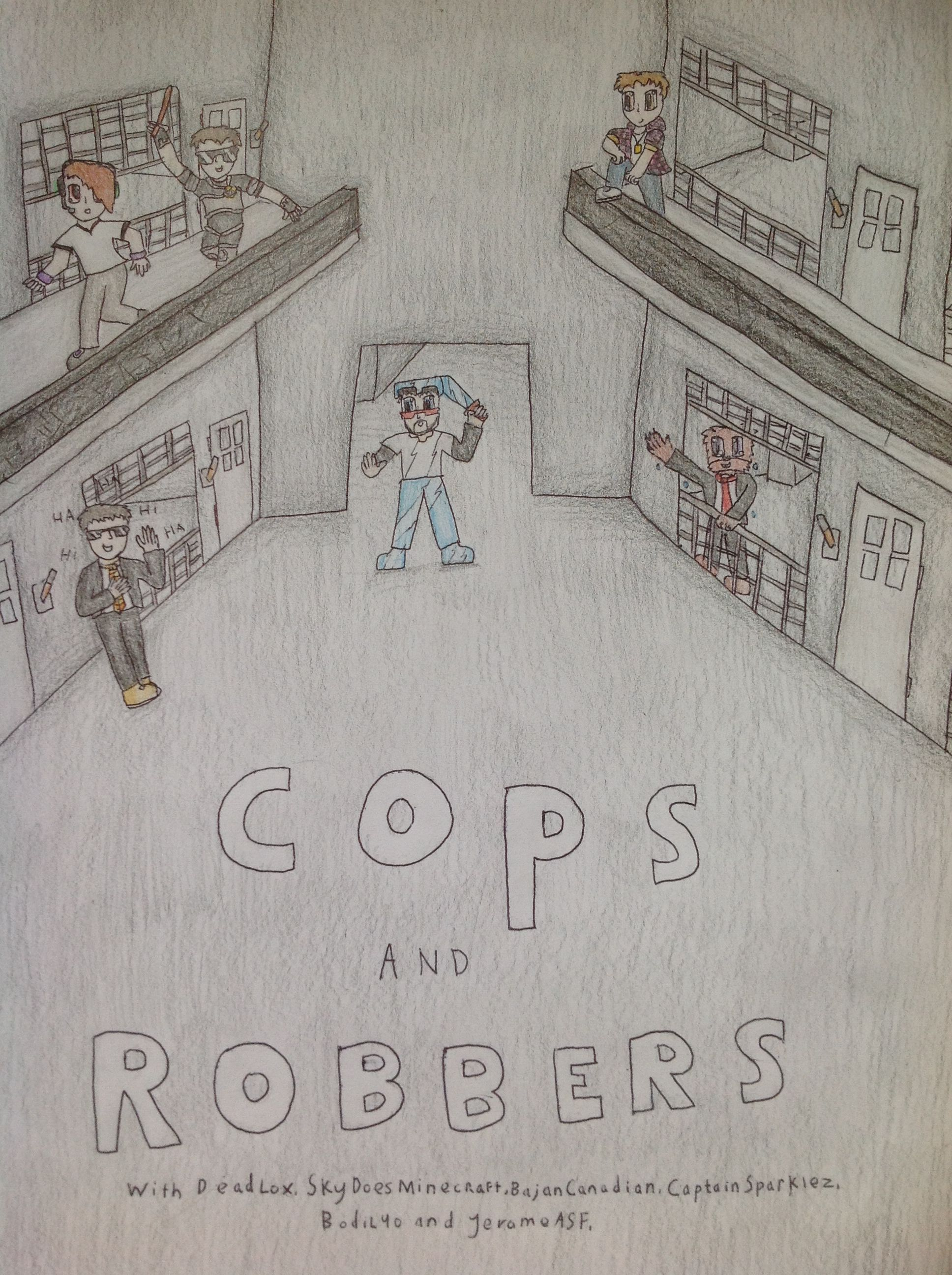 sky cops and robbers