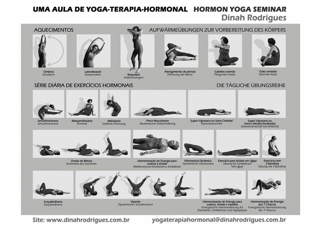 Hormoonyoga serie Dinah Rodriguez | Yoga | Pinterest | Yoga and Workout