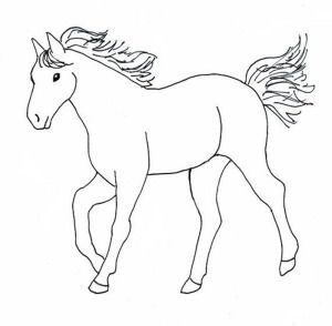 Fun Horse Coloring Pages For Your Kids Printable Horse Coloring Pages Horse Drawings Horse Coloring