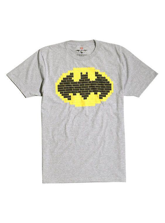 The Lego Batman Movie Logo T Shirt With Images Lego T Shirt