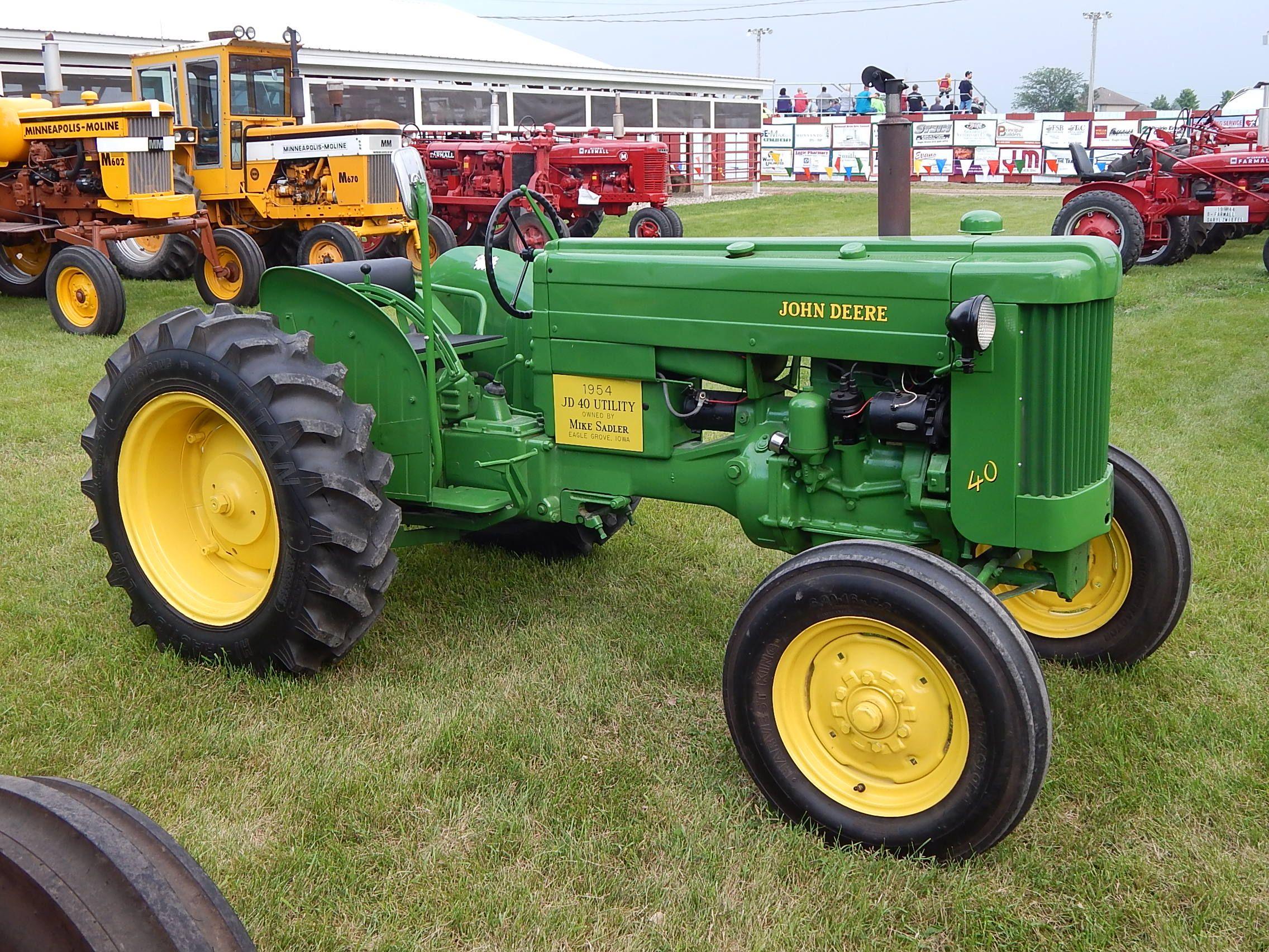 John deere jd utility tractors and farm