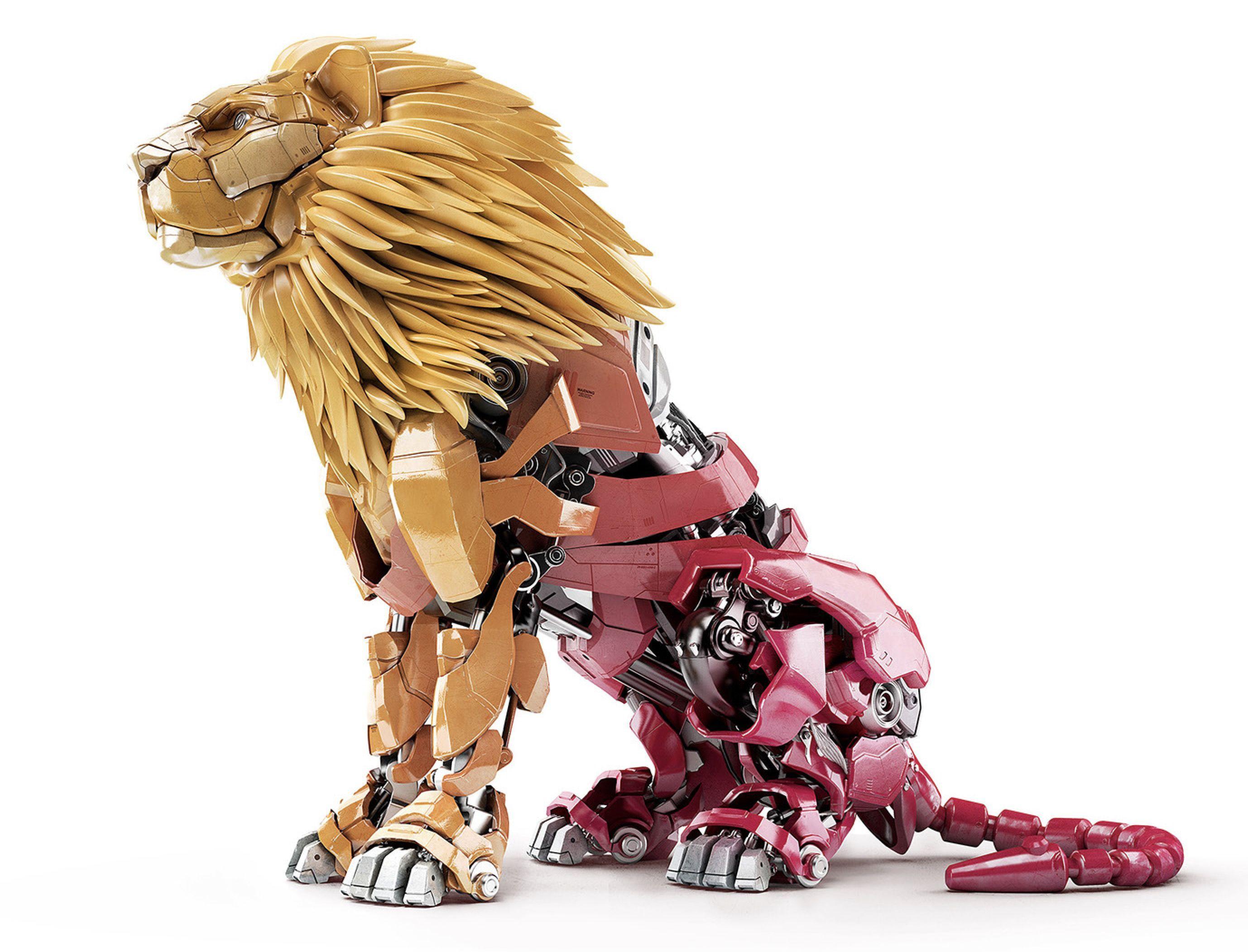 Mechanical lion https www behance net gallery 35271975