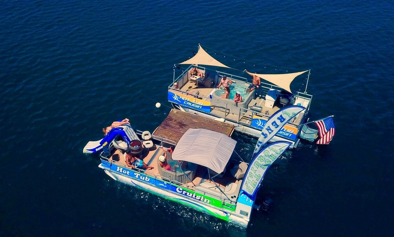 San Diego Hot Tub Pontoon For Cruising Boat Rental Sailboat Rental Pontoon