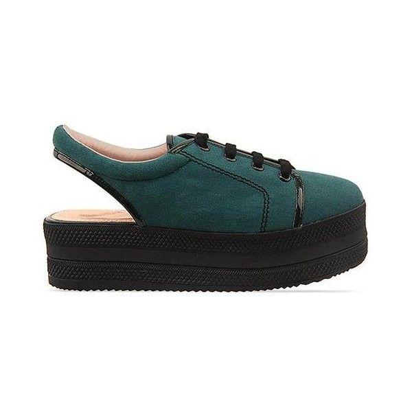 Opening Ceremony - Slingback Platform Sneaker ($280) ❤ liked on Polyvore