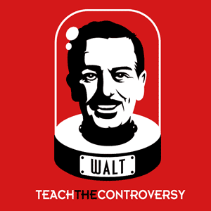 Walt Disney's Cryogenically Frozen Head tee shirt from Teach the Controversy