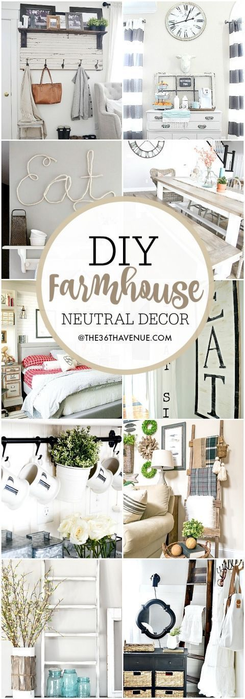 What's halloween without halloween decorations? Farmhouse DIY Home Decor Ideas   Easy home decor, Home ...