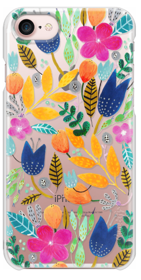 Casetify iPhone 7 Snap Case - Flower Mayhem by Iisa Mönttinen