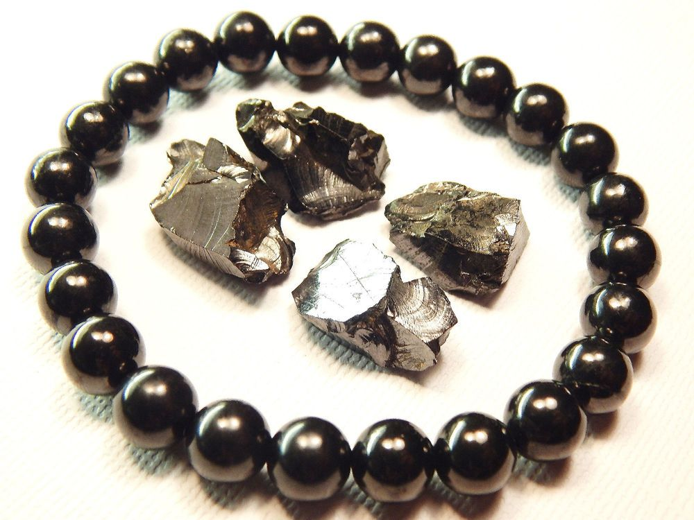 Details about Silver Shungite Elite Noble Stones Small 1/2