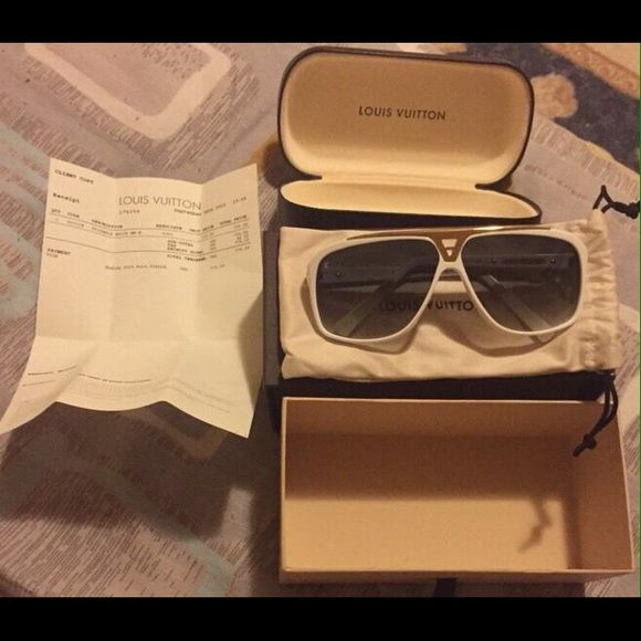 13997d4704e Louis Vuitton evidence sunglasses Authentic Louis Vuitton evidence ...