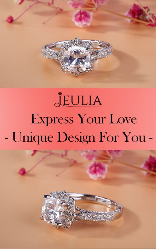614ab03855f10c Express your love AND individual sense of style with one of Jewelry by  Jeulia's stunning engagement ring. This ring perfectly defines the vintage  style with ...