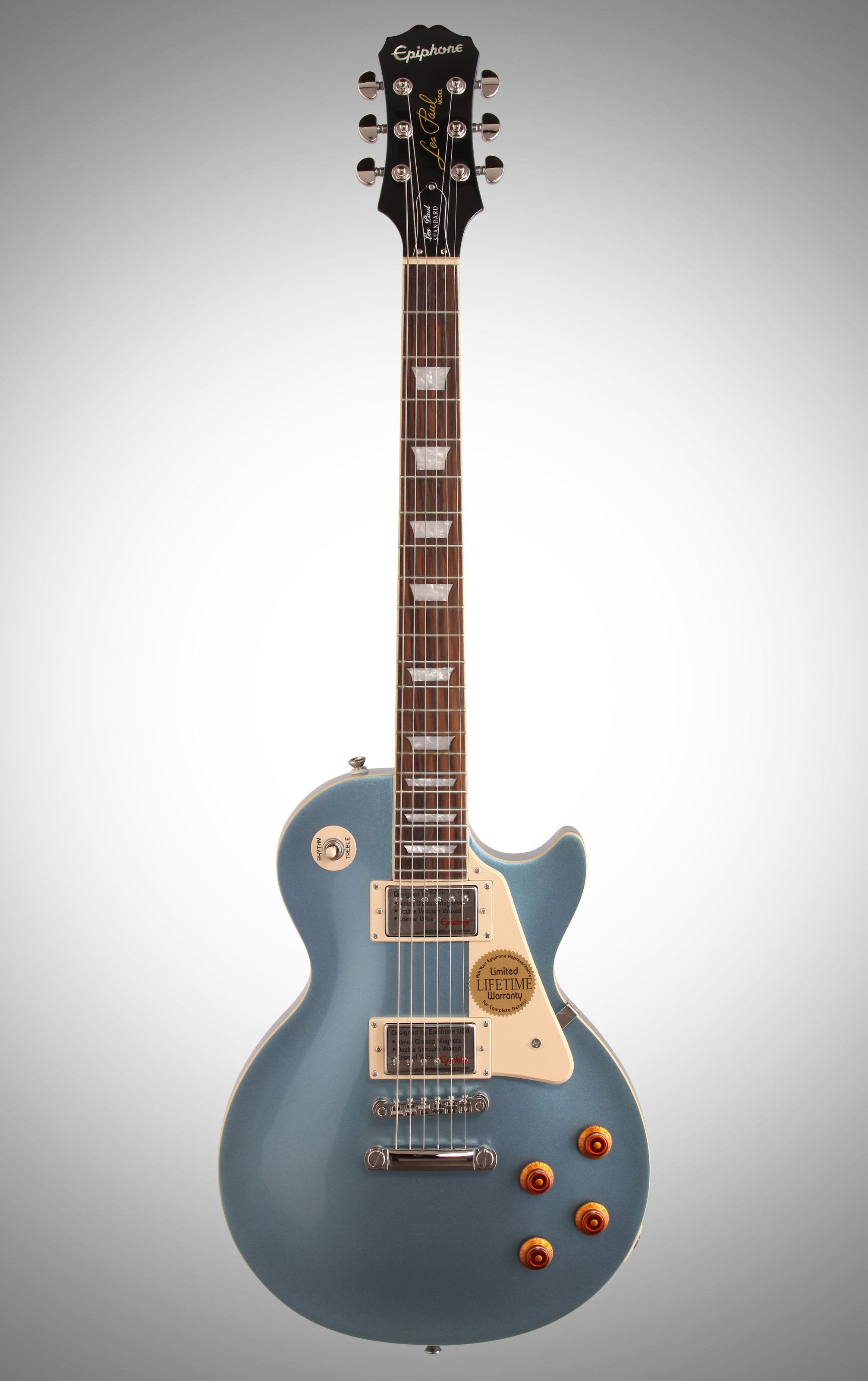 Epiphone Les Paul Standard In Pelham Blue Awesome