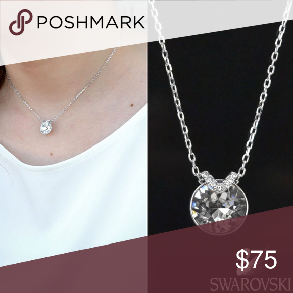 b13d3619125a6 Swarovski Bella V Pendant and Necklace Add a subtle touch of sparkle ...