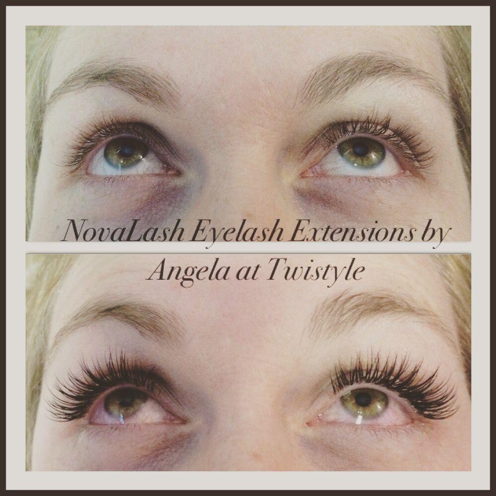 Full set of NovaLash Eyelash Extensions. :)   Eyelashes   Pinterest ...