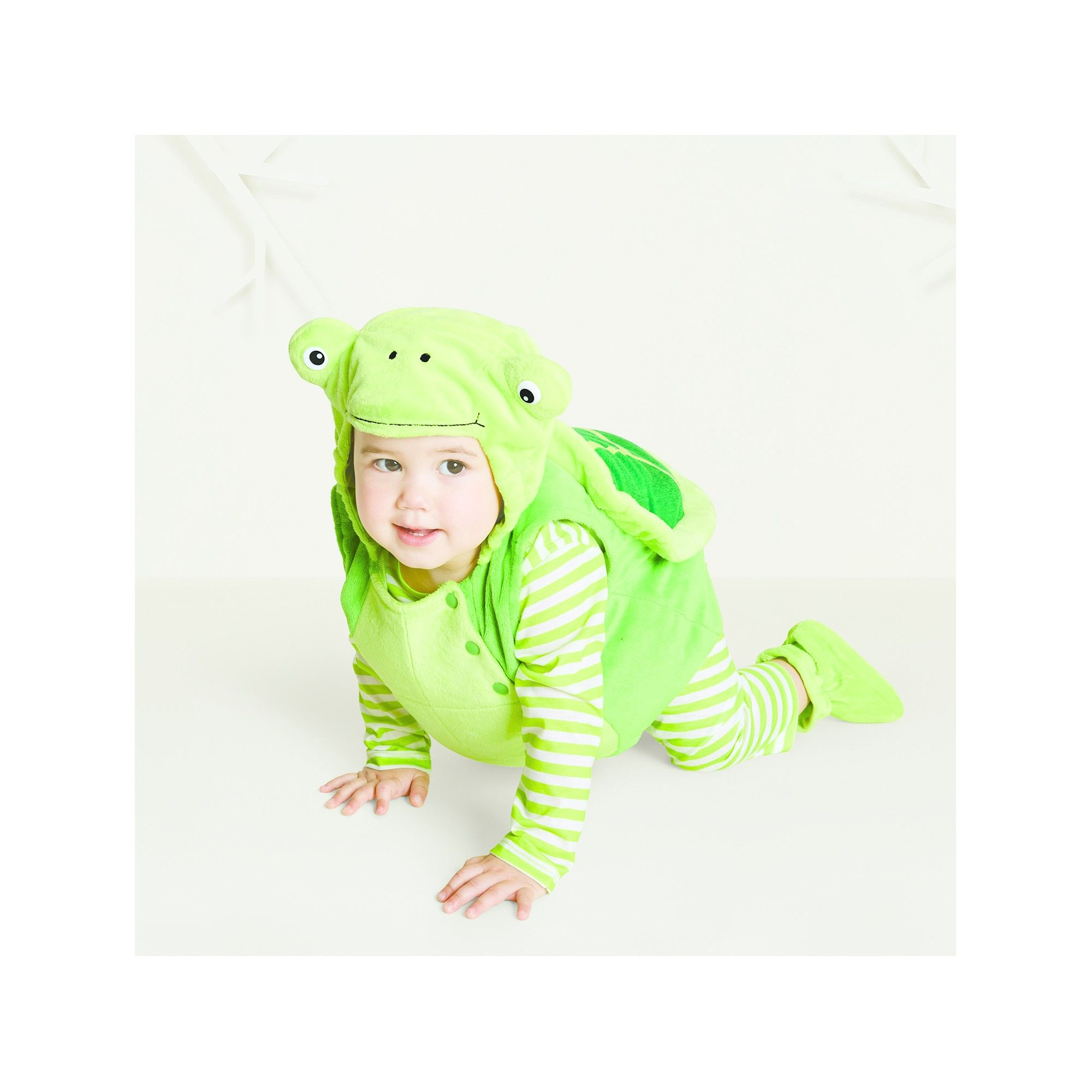 5b61be2a9 Halloween Baby Plush Turtle Vest Costume - 12-18 Months - Hyde and Eek!  Boutique, Infant Unisex, Green