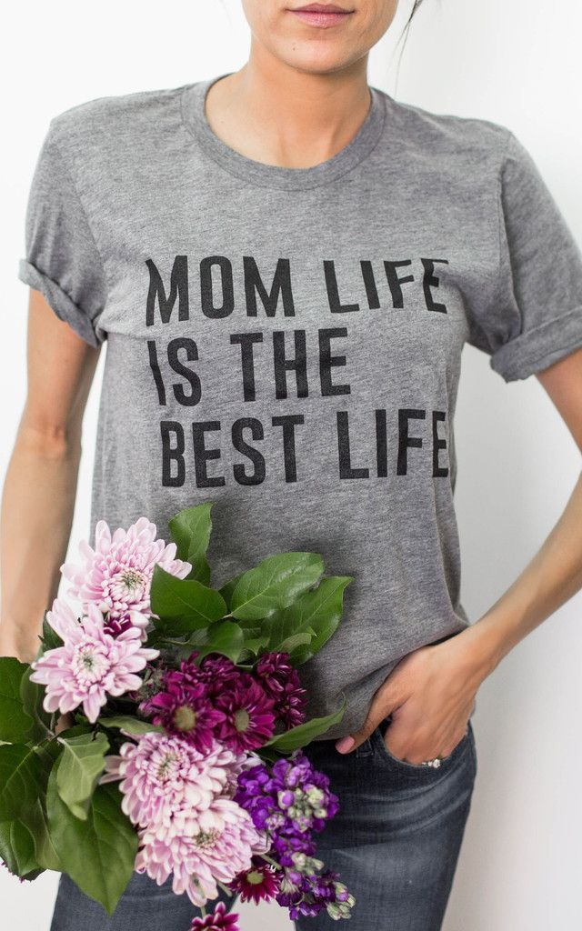 mom life is the best life | graphic tee
